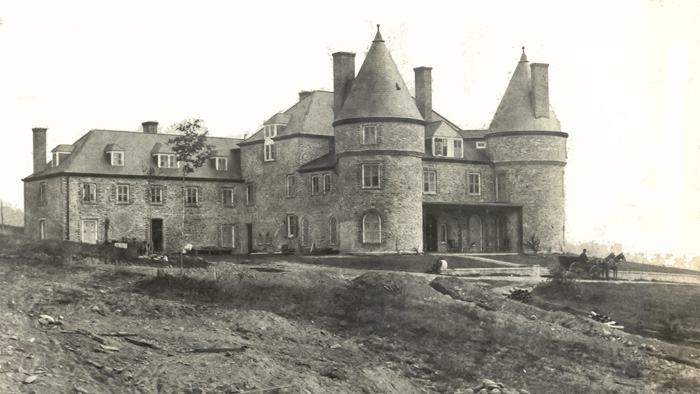 Grey Towers in 1886