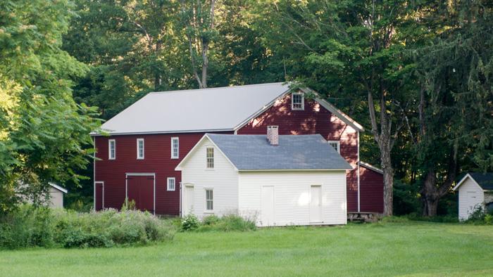 Ramsaysburg Historic Site In Knowlton Township In Warren