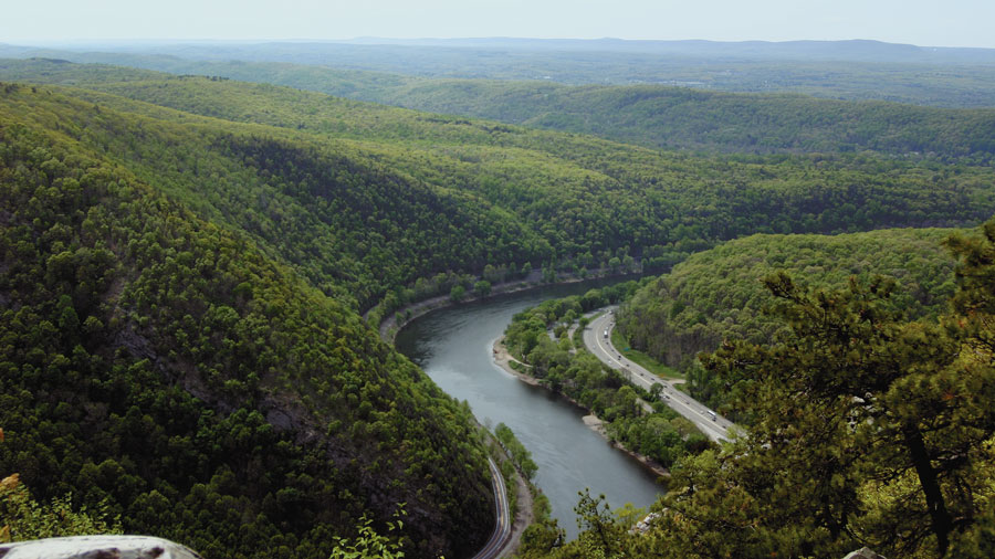 hiking the delaware water gap in new jersey northwest